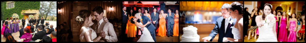 Houston Wedding DJ, Bride and Groom First Dance at their Houston Wedding, Ceremony and Reception, Cake Cutting, Bouquet Toss, Garter Toss, Wedding Party, Bridal Party