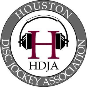 HDJA, HHDJA, Houston Disc Jockey Association, Houston Hispanic Disc Jockey Association, Logo, Banner