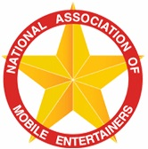 N.A.M.E., National Assocation of Mobile Entertainers, Logo, Banner
