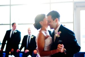Houston Wedding DJ, Bride and Groom First Dance at their Houston Wedding, Ceremony and Reception