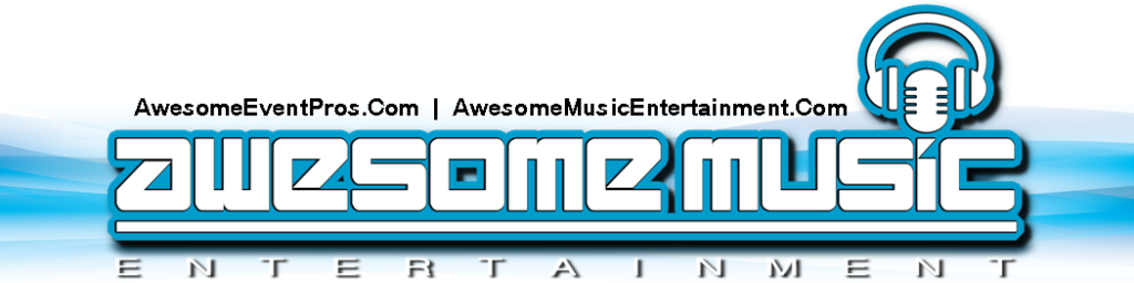 Houston DJ, DJs in Houston, Awesome Event Pros, Awesome Music Entertainment, AME DJs Logo