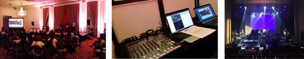 Digital Mixer Board, Sound System, Audio