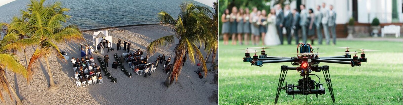Houston Wedding Ceremony Aerial Drone Videography & Photography