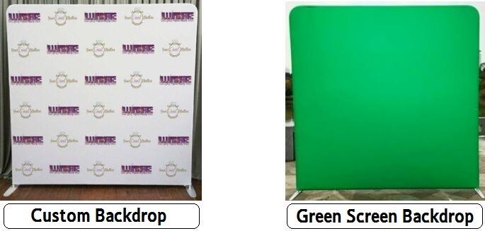 Photo Booths in Houston, Houston Photo Booth, Custom Backdrop, Green Screen Backdrop, Houston DJ, DJs in Houston, Awesome Photo Booth